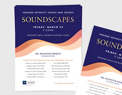 Soundscapes | Poster Design