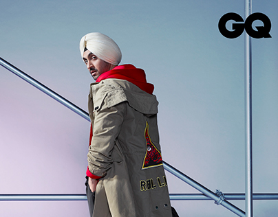 GQ - September Issue with Diljit Dosanjh