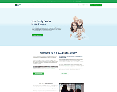Cal Dental Group Website