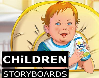 STORYBOARDS CHILDREN