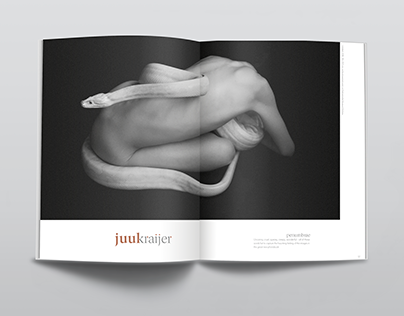Juul Kraijer Editorial Spreads