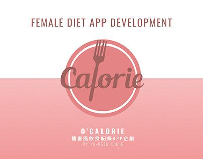 【APP Development】O'Calorie