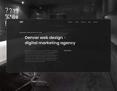 Digital agency | website redesign
