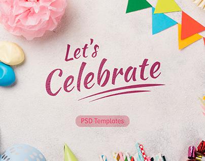 Templates - Let's celebrate!