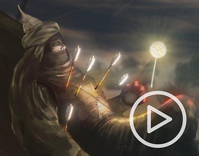 Animated Comic | Lady of Light