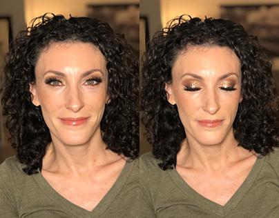 Heather - Event makeup