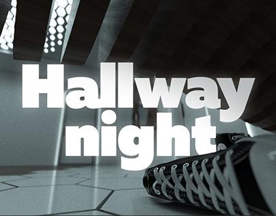 Hallway Night | Interior design | 360º