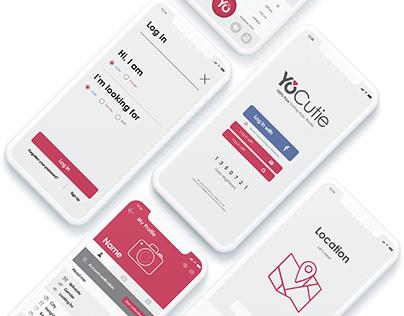 YoCutie / Logo / UI/UX