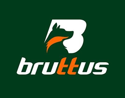 Logotipo Bruttus Pet Food
