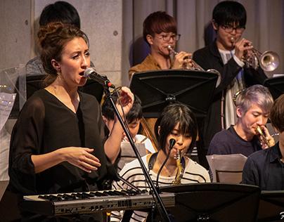 Sara McDonald with Keio Light Music Society