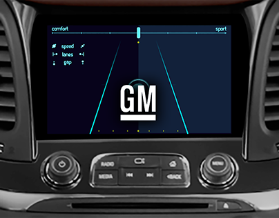 GM (General Motors) /// Autonomy car driving modes