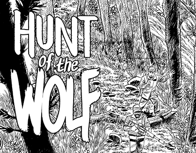 Hunt of the Wolf - art and letters