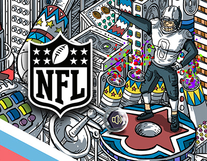 NFL. ILLUSTRATION & ANIMATION.