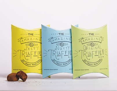 The Amazing Truffle! - Packaging Design