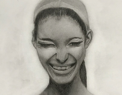 Emotions in graphite pencil