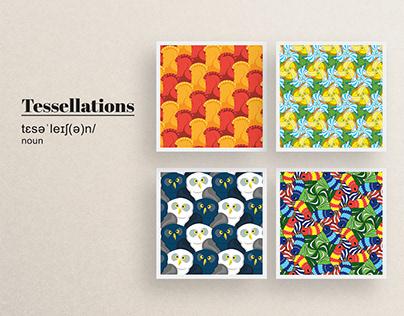 Form Studies   Organic Tessellations