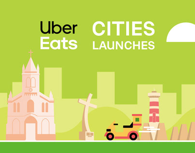 UBER EATS // CITIES LAUNCHES