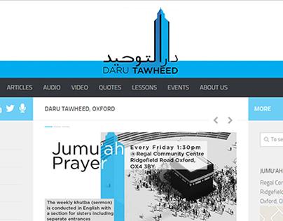 DaruTawheed Logo and Website