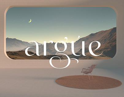 Argue - Stylish Display Font