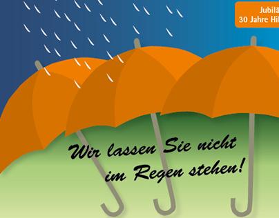 Wir lassen Sie nicht im Regen stehen