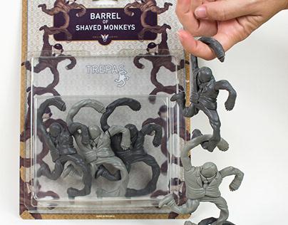 BARREL OF SHAVEDMONKEYS by Emilio Subirá