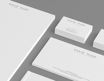 David Wade Fine Art - Identity & Website Design
