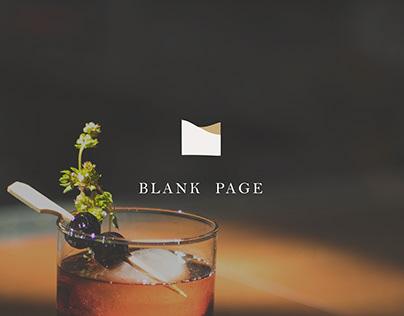 Branding , Menu Design | Blank Page 餐酒館品牌、菜單設計
