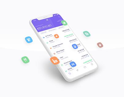 New Icon Set - Qonto App