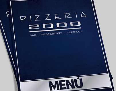 Menu Pizzeria 2000