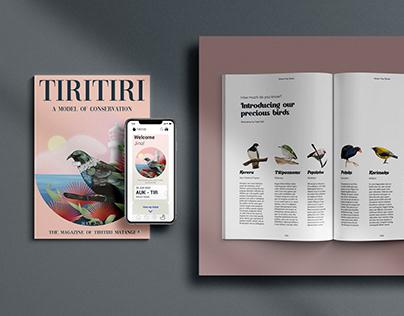Product design_Tiritiri Matangi branding