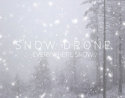 SNOW DRONE - SNOW EVERYWHERE