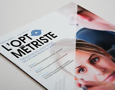 Conception / grille graphique / Revue l'Optométriste
