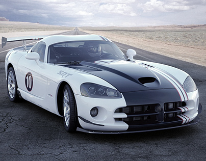 Dodge Viper SRT10 (3d work from 2011)