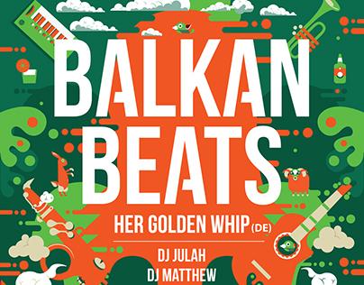 BALKAN BEATS / POSTER