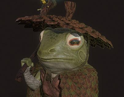 Samurai Frog VideoGame Character