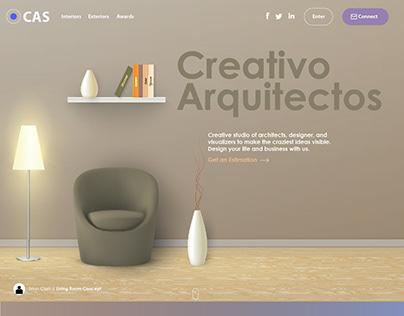 Interior Decor Website Design - Branding