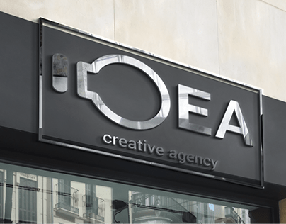 """Логотип """"IDEA - Креативное агентство"""""""