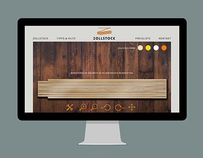 Zollstock.com: Branding & Interactive Design