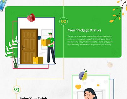 Drink Homepage