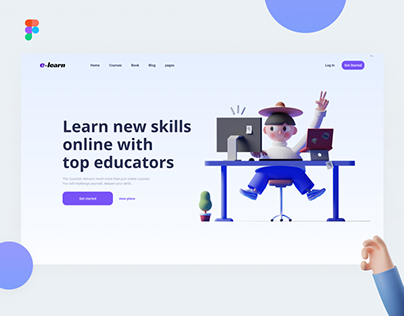 Online Education | E-Learning Landing Page