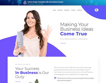 Business Idea Website