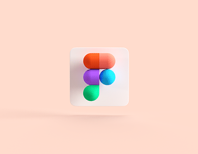 Figma 3D Icon for Mac OS Big Sur