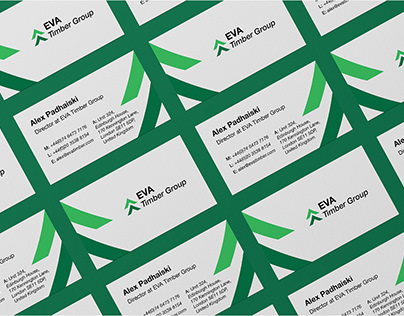 EVA Timber Group. Corporate Identity.