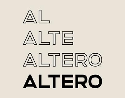 Altero – Font Family