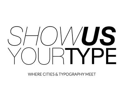 CITIES & TYPOGRAPHY