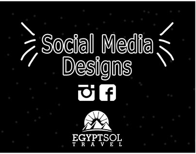Social Media Designs ( Egypt sol travel )