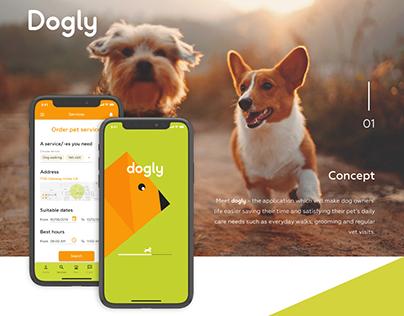 Dogly App for IOS