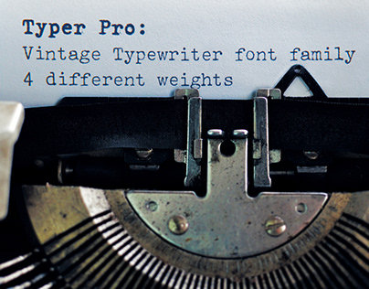 Typer Pro: typeface