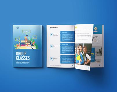 Ebook brochures and design