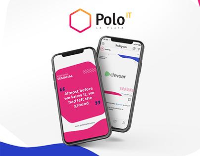 POLO IT Social Media Branding